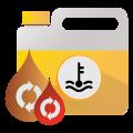 flush fluids and exchange